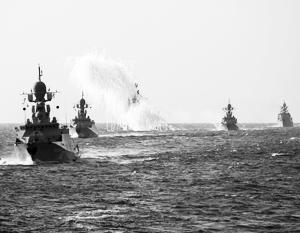 Каспийской флотилии поручили поддержать морпехов в Дагестане огнем
