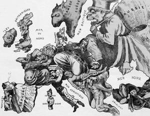 Масштабы России всегда были велики для Европы