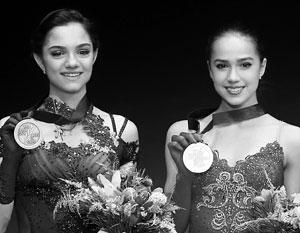 Российские фигуристки завоевали золото и серебро на Олимпиаде