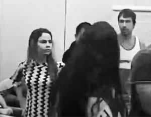 В Сети появилось видео задержания Насти Рыбки