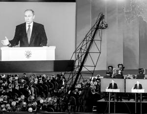 В послании Путина еще долго будут искать скрытые смыслы