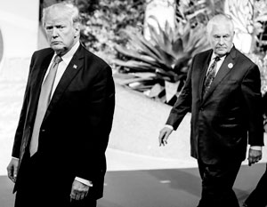 Рекс Тиллерсон больше не идет за Трампом