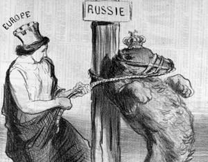 Пример классической британской антироссийской карикатуры