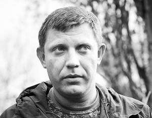 Захарченко предложил объявить в Донбассе пасхальное перемирие