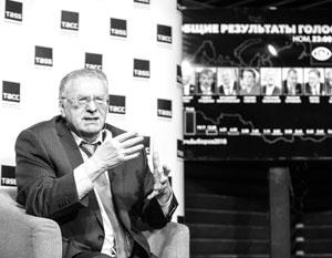Жириновский написал о хмурых и молчаливых голосовавших за Путина