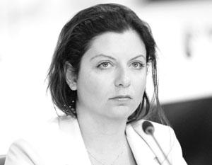 Симоньян: Запад включил в нас режим «русские не сдаются»