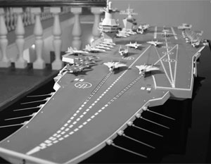 Ключевым элементом океанского флота должен стать авианосец принципиально нового проекта