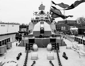 Черноморский флот России с 2015 года получил два новых фрегата