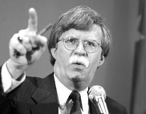 Болтон, в том числе, прославился статьей о том, что международное право ничего не значит для США
