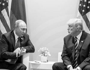 Политика: Трамп начал терять уважение Путина