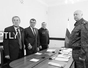 Тулеев едва не упал на заседании у Путина
