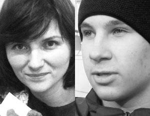 Погибшая Татьяна Дарсалия и Дмитрий Полухин, спасший трех детей