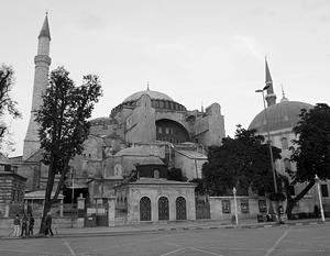 Эрдоган прочитал в соборе святой Софии отрывок из Корана