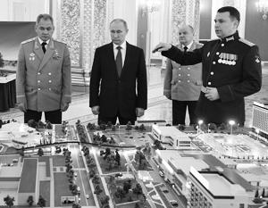 Еще в феврале президенту Владимиру Путину были продемонстрированы возможности будущего анапского технополиса «Эра»