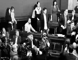 В парламенте Грузии подрались из-за «русских вредителей экологии»
