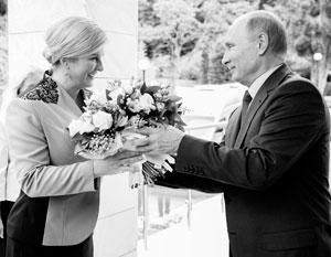 «Я вижу Россию как мировую силу, с которой в любом случае нужно разговаривать», – подчеркнула Колинда Грабар-Китарович