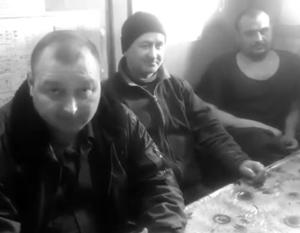 Капитан «Норда» Владимир Горбенко (на переднем плане) не угодил Украине только своим российским паспортом