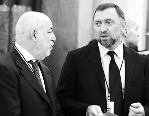 Виктор Вексельберг и Олег Дерипаска попали в санкционные списки США