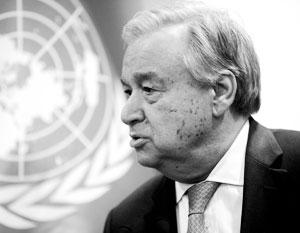 Генсек ООН пожаловался на частое использование вето в Совбезе