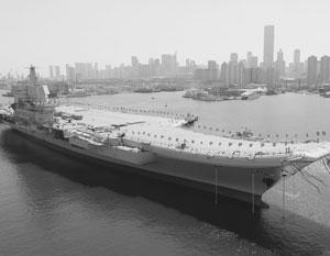 Стало известно о скором выходе в море первого построенного в Китае авианосца