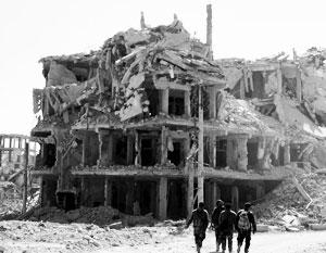 США выступили против восстановления подконтрольной Асаду Сирии из руин