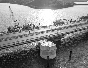 Стекающую с Крымского моста воду решено фильтровать