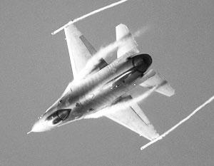 Истребитель ВВС США разбился в Аризоне