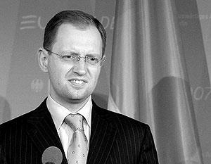 Министр иностранных дел Украины Арсений Яценюк