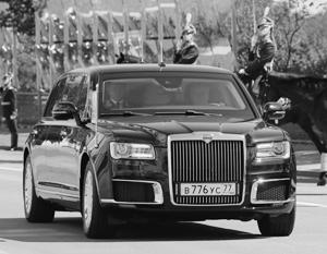 Российский президент получил чисто российский лимузин