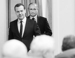 С подачи Владимира Путина Дмитрий Медведев опять стал без пяти минут премьер-министром