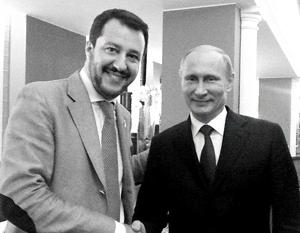 У партии Маттео Сальвини, считающегося другом России, есть хорошие шансы на новых выборах