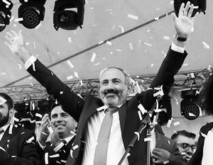 Пашинян обещает: союзнические отношения с Москвой для Еревана останутся приоритетом