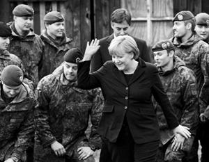 Если Меркель и впрямь решит сколотить «евроармию», формироваться она будет на основе бундесвера