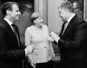 Киев пытается продать Европе новый формат консультаций по Донбассу