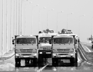 Крымский мост открыли на полгода раньше срока