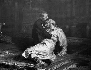 Фото: «Иван Грозный и сын его Иван 16 ноября 1581 года», И.Е. Репин