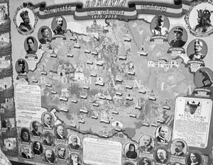 СБУ устроила охоту за картой «Великой Румынии», включавшей часть современной Черновицкой области