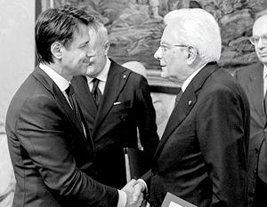 Президент Италии Маттарелла, опасаясь перевыборов, предпочел «воскресить» правительство «друзей Путина» во главе с Конте