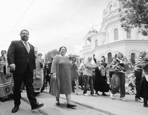 Георгий Михайлович и Мария Владимировна Романовы в Крыму
