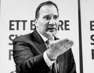 Премьер Швеции хочет выиграть выборы за счет России