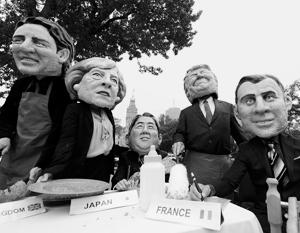 G7 вошла в состояние полураспада впервые за свою историю