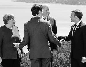 Лидеры G7 раздумывают, как бороться с «пропагандой и попытками дестабилизации» со стороны РФ