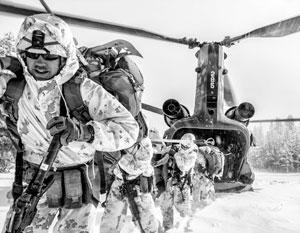 Американцы намерены дислоцировать до 700 морпехов в 500 км от норвежско-российской границы