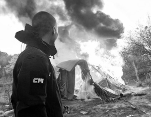 Украинское государство легко и незаметно стало спонсором цыганского погрома в Киеве