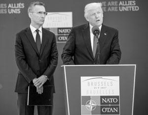 Генсеку НАТО Йенсу Столтенбергу уже нет смысла скрывать разногласия внутри альянса