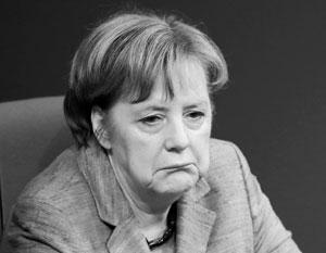 Высокая популярность Меркель еще недавно казалась незыблемой