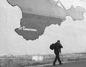То, что Крым окончательно «ушел» от Украины, прекрасно понимают на Западе