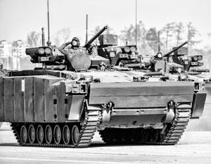 «Курганец» уже демонстрировали, но принятие этой машины на вооружение постоянно откладывается