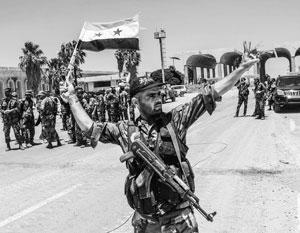 «Сегодня исторический день для Сирии. У мечети Аль-Омари, где мы сейчас, начались первые волнения»