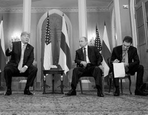 Из-за ошибки переводчика Путин как будто подтвердил, что направлял кого-то в США на помощь Трампу
